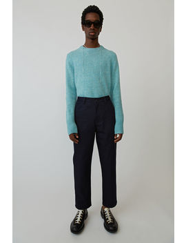 Hose In Maler Passform Marineblau by Acne Studios