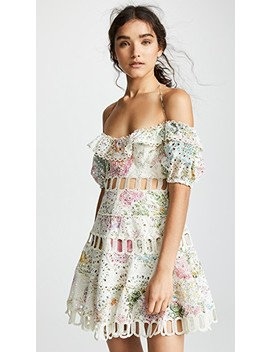 Heathers Off Shoulder Dress by Zimmermann