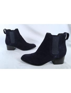 Rag & Bone 'walker' Boot  Navy Suede  Size Us 10/ 40 Eu $475 (A10) by Ebay Seller