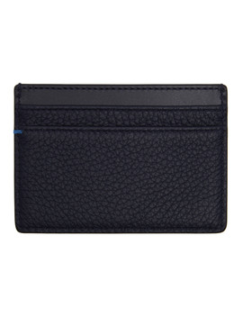 Navy Burlington Card Holder by Smythson