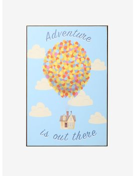 Disney Pixar Up Adventure Is Out There Wood Wall Art by Hot Topic