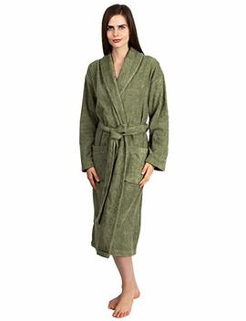 Towel Selections Women's Robe, Turkish Cotton Terry Shawl Bathrobe Made In Turkey by Towel Selections