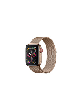 Apple Watch   Rostfri Stålboett I Guldfinish Med Milanesisk Loop I Guldfinsh by Apple