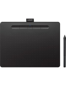 Intuos Wireless Graphic Tablet (Medium) With 3 Bonus Software Included   Black by Wacom
