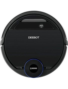 Deebot Ozmo 930 App Controlled Self Charging Robot Vacuum & Mop   Black by Ecovacs Robotics