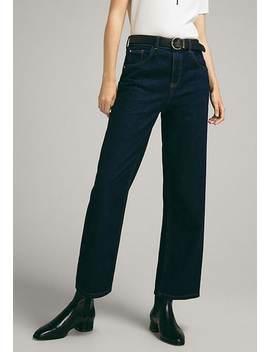 Mit Hohem Bund    Flared Jeans by Massimo Dutti