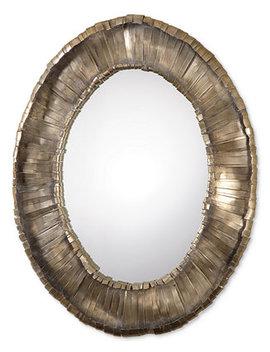 Vevila Oval Mirror by Uttermost
