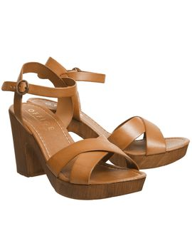 Morelle Wood Sandals by Office