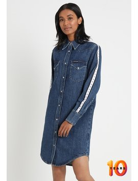 Western Dress   Denim Dress by Calvin Klein Jeans