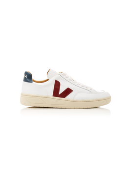 Bastille Two Tone Leather Sneakers by Veja