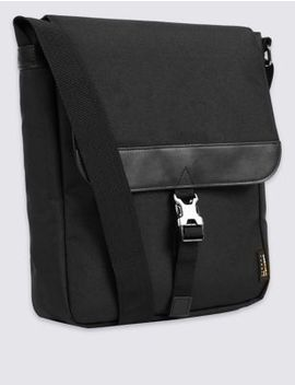 Scuff Resistant Cordura® Cross Body Bag by Marks & Spencer
