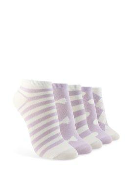 Assorted Ankle Socks – 5 Pack by Forever 21