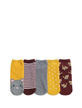 Assorted Ankle Socks   5 Pack by Forever 21