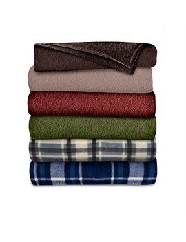 Sunbeam Fleece Heated Throw Blanket, Assorted Colors And Patterns (Thf8 Qa R001 31 A00) by Sunbeam