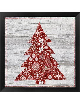 Xmas Sign Iii By Andrea Haase Framed Art by Metaverse
