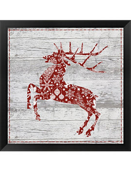 Xmas Sign Ii By Andrea Haase Framed Art by Metaverse