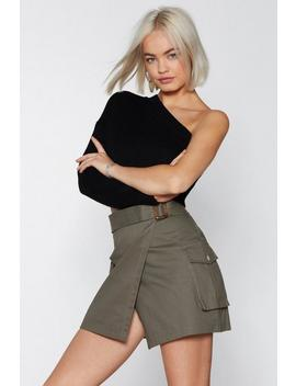 Wrap City Mini Skirt by Nasty Gal