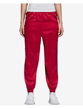 Satin Track Pants by Adidas Originals