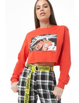 The Notorious B.I.G. Graphic Crop Top by Forever 21