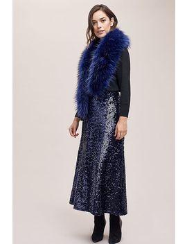 Mira Sequin Midi Skirt by Just Female