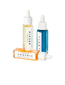 Mini Facial Oil Trio by Herbivore Botanicals
