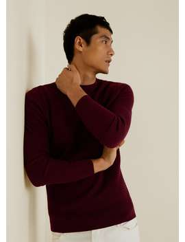 Structured Wool Sweater by Mango