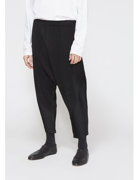 November Drop Crotch Trouser by Issey Miyake Homme Plisse