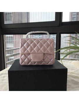 Esbear Caviar Chain Bag Women Designer Bags Fashion Brand Top Quality Real Leather Small Bag Classic Crossbody Women's Handbags by E Sbear