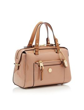 J By Jasper Conran   Pink Patent 'balham' Bowler Bag by J By Jasper Conran