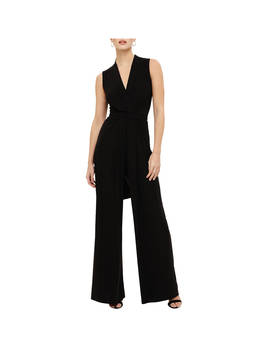 Phase Eight Tia Sleeveless Jumpsuit, Black by Phase Eight
