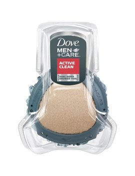 Dove Men+Care Shower Tool, Dual Sided Body Scrubber And Loofah, 1 Ct by Dove Men+Care