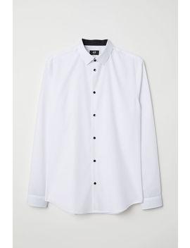 Camisa Mezcla Algodón Slim Fit by H&M