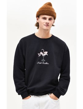 Pink Panther Crew Neck Sweatshirt by Pacsun