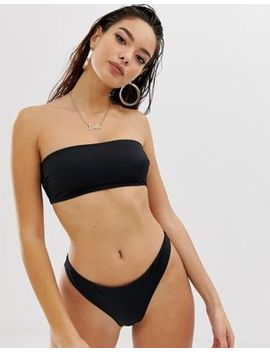 Asos Design Recycled Mix And Match Thong Bikini Bottom by Asos Design