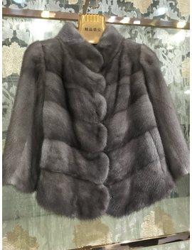 Sqxr Fur Real Mink Fur Fashion Jacket  Women Real Mink Fur Coat Women  Natural Mink  Fur  by Sqxr Fur