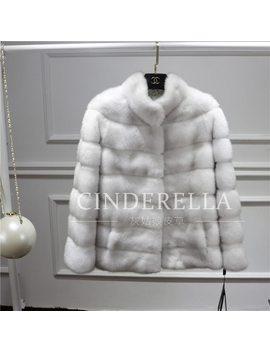 Mink Fur Coat Real Fur Coat New 2017 Winter Coat Women Outerwear Whole Peel Overcoat High Grade Women Coat Mink by Ali Express