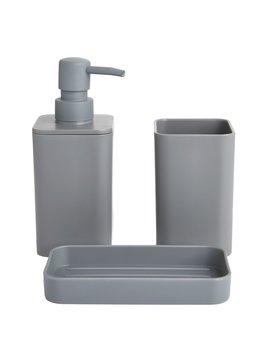 Wilko Bathroom Set Grey Wilko Bathroom Set Grey by Wilko