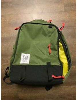 Topo Designs Core Pack Unisex Rucksack   Olive One Size by Topo Designs