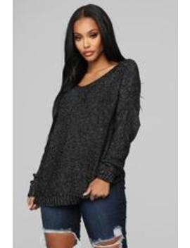 Cool Again Sweater   Black by Fashion Nova