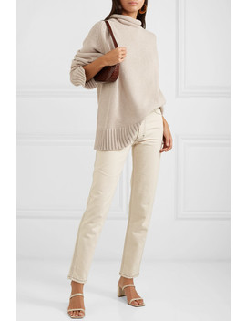 Sloppy Joe Cotton Bend Turtleneck Sweater by Joseph