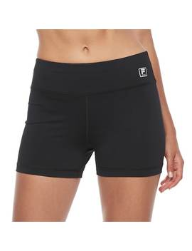 Women's Fila Sport® Performance Fitted High Waisted Bike Shorts by Fila Sport
