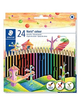 Staedtler 185 C24 Noris Colour Colouring Pencil   Assorted Colours by Staedtler