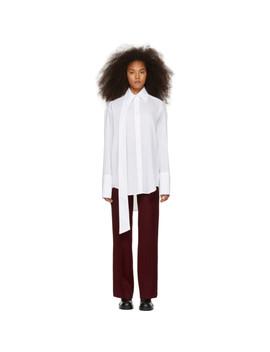 Off White New Big Shirt by Yang Li