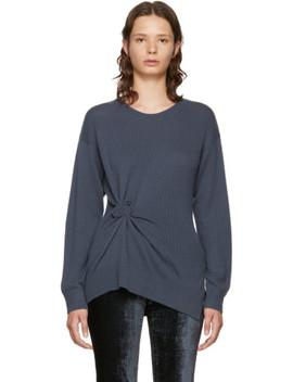 Grey Cashmere Rosette Brynn Sweater by Sies Marjan