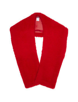 Red Jordi Mongolian Shrug by Sies Marjan