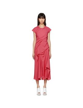 Pink Paloma Twist Pickup Dress by Sies Marjan