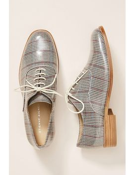 Etienne Aigner Emery Plaid Oxfords by Etienne Aigner