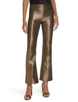 Kylyn High Waist Flare Leg Crop Pants by Alice + Olivia