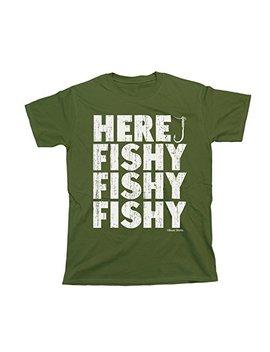Buzz Shirts Fishy Fishy Fishy T Shirt Mens Ladies Unisex Fit Funny Fishing by Buzz Shirts