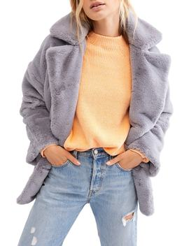 Kate Faux Fur Coat by Free People